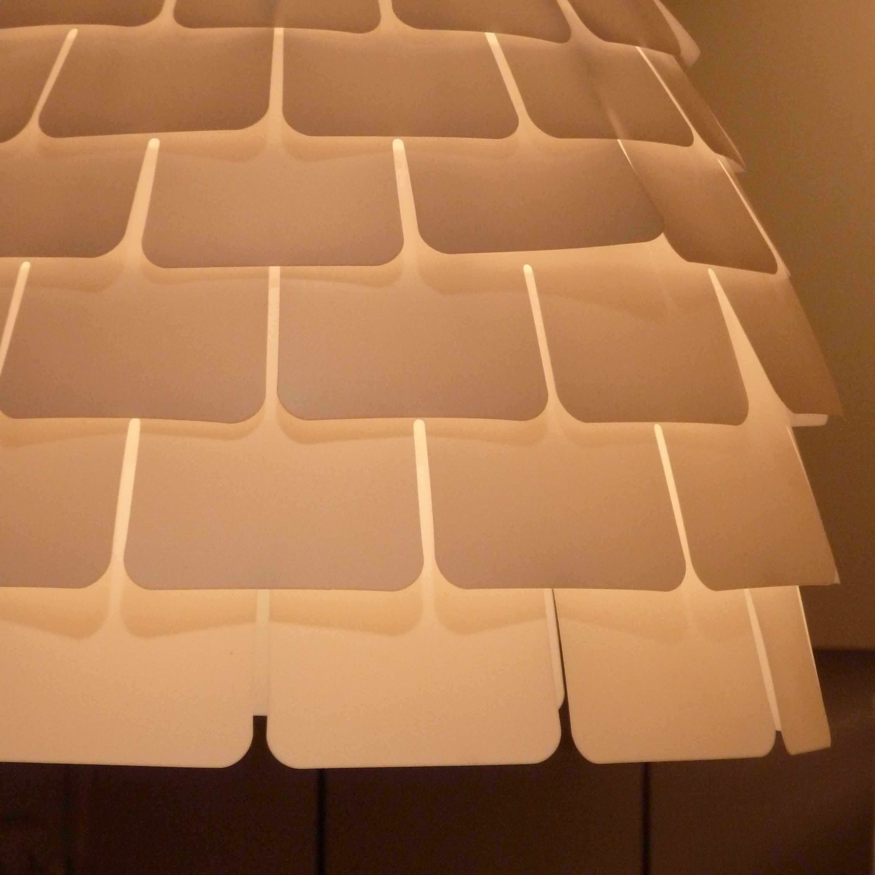 IKEA suspension Kvartär 2014 forme artichaut