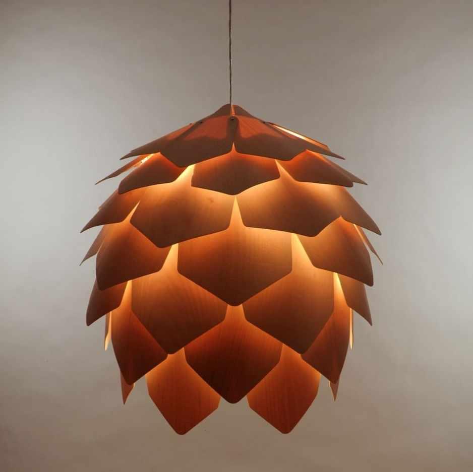 lampe pomme de pin Crimean pinecone Eekra