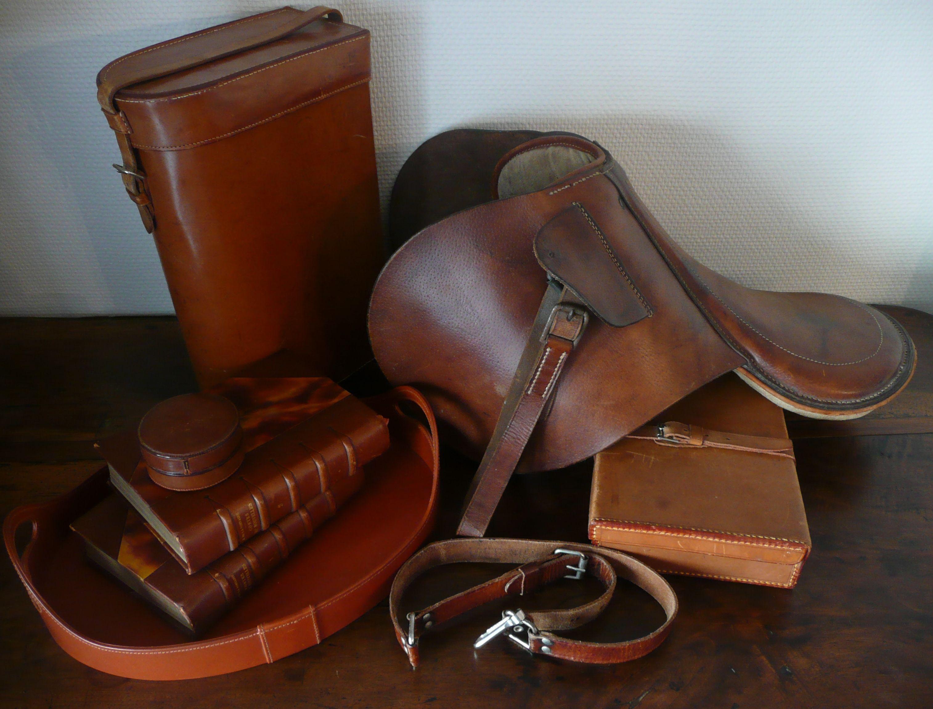 objets en cuir