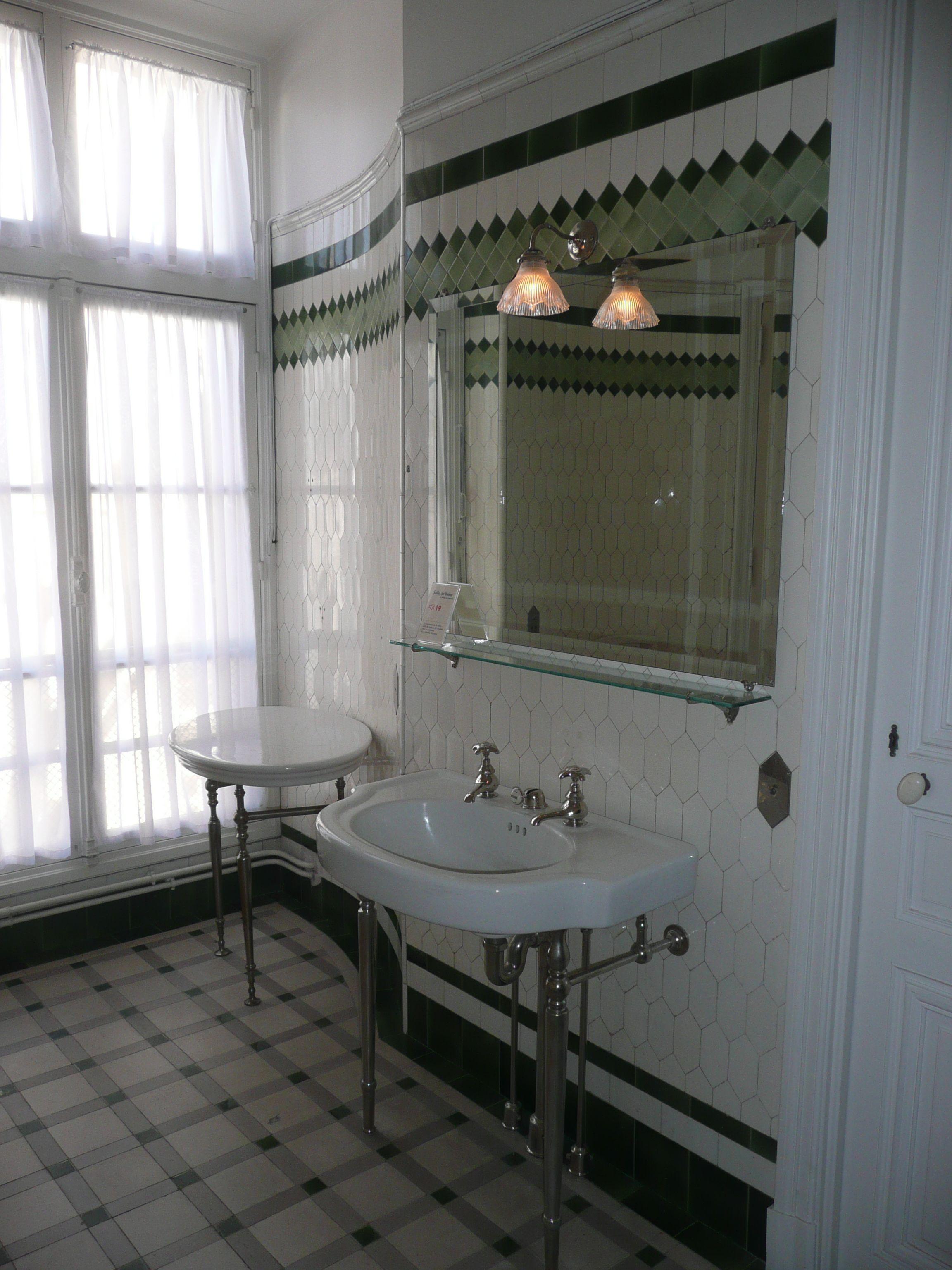 Les salles de bains du Musée Nissim de Camondo