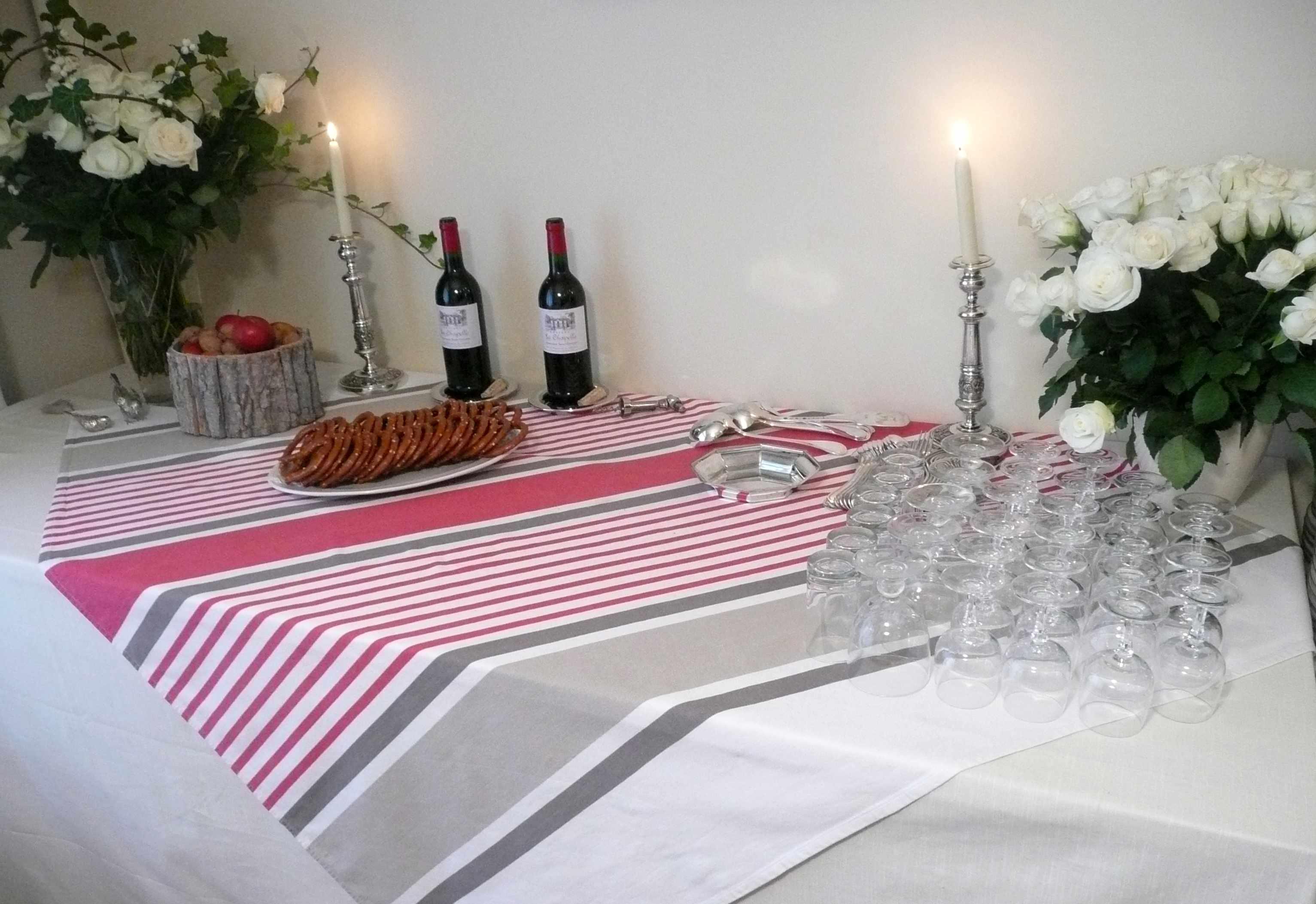 Table d 39 automne for Une nappe de table