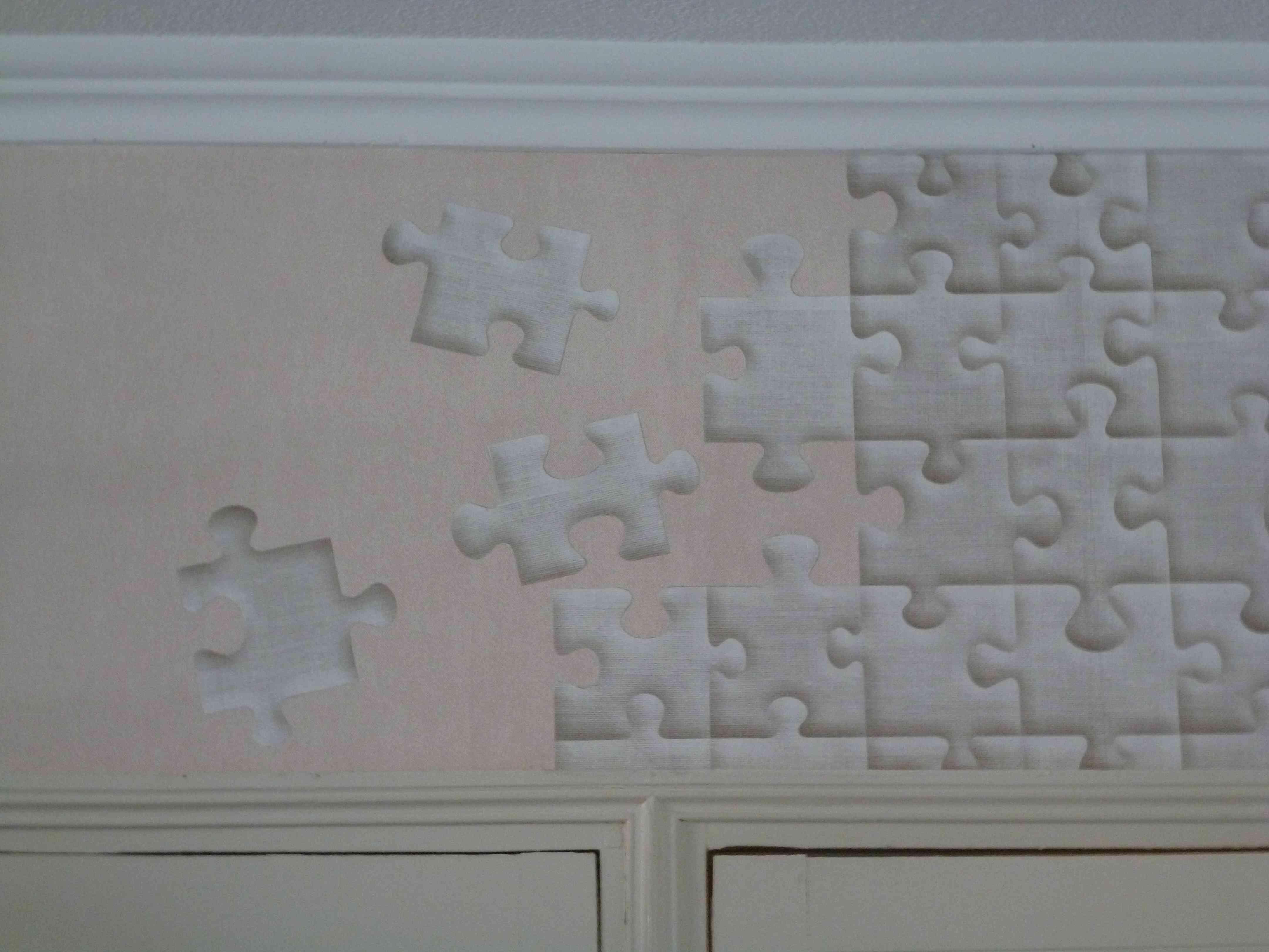 patchwork de papier peint. Black Bedroom Furniture Sets. Home Design Ideas