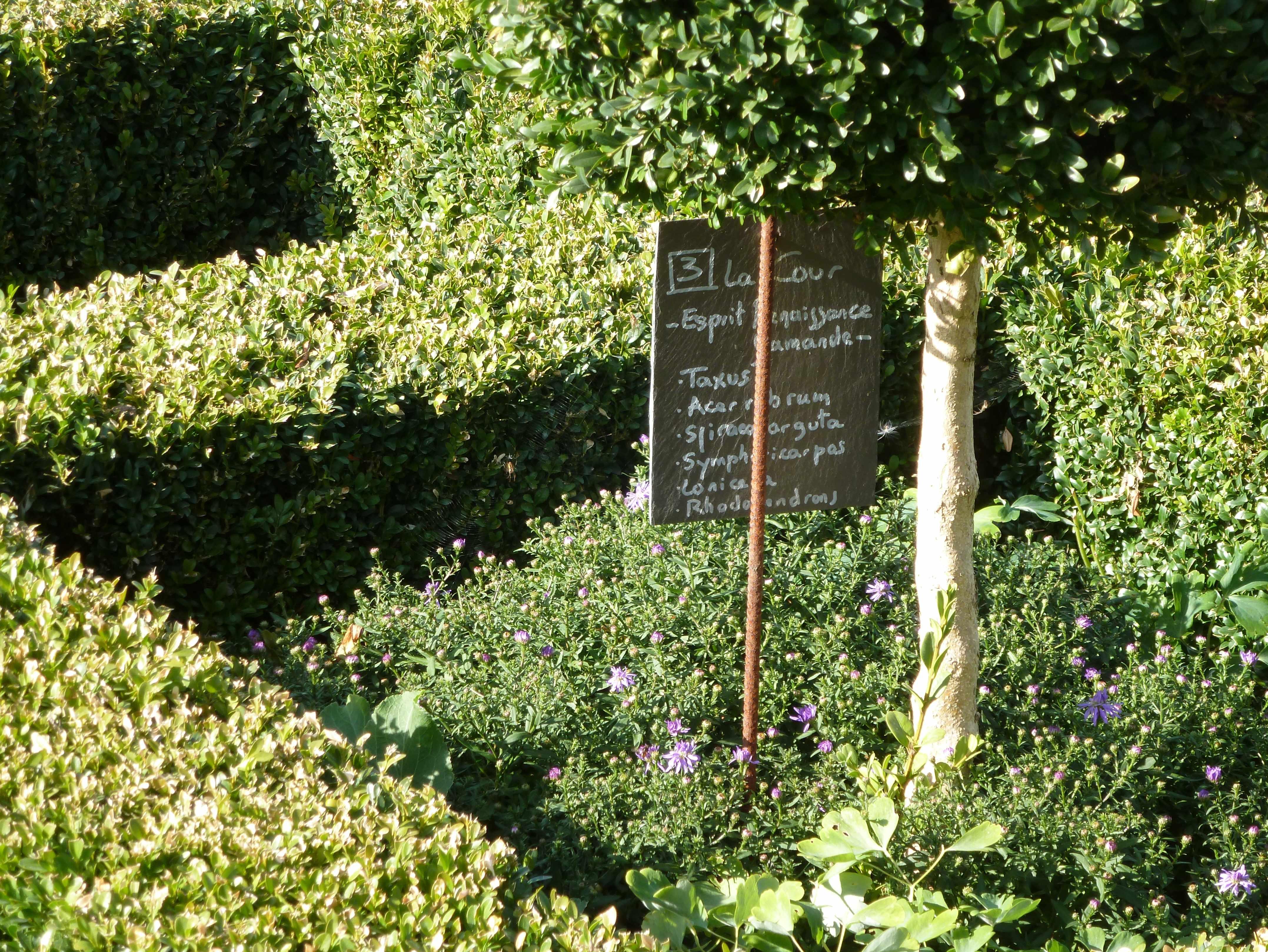 Au nord 3 un jardin en flandre - Etiquette jardin ...