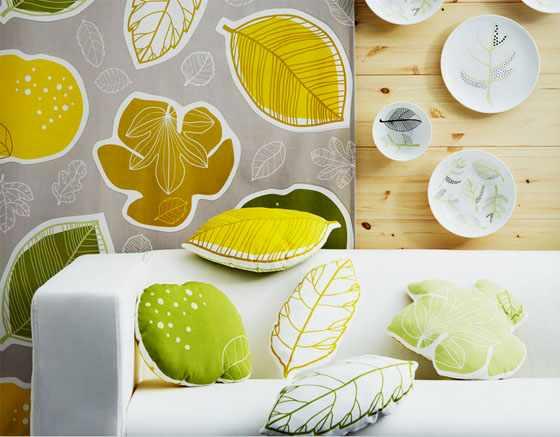 Ikea collection automne-hiver 2012-2013 tissu Gurine