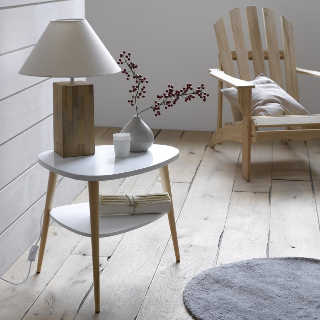 Design la mode scandinave for Table de chevet en fer