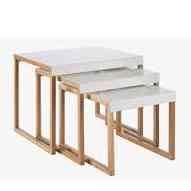 Design la mode scandinave - Table gigogne habitat ...