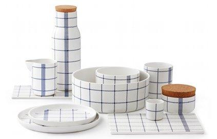 Bleu porcelaine suite Design scandinave histoire