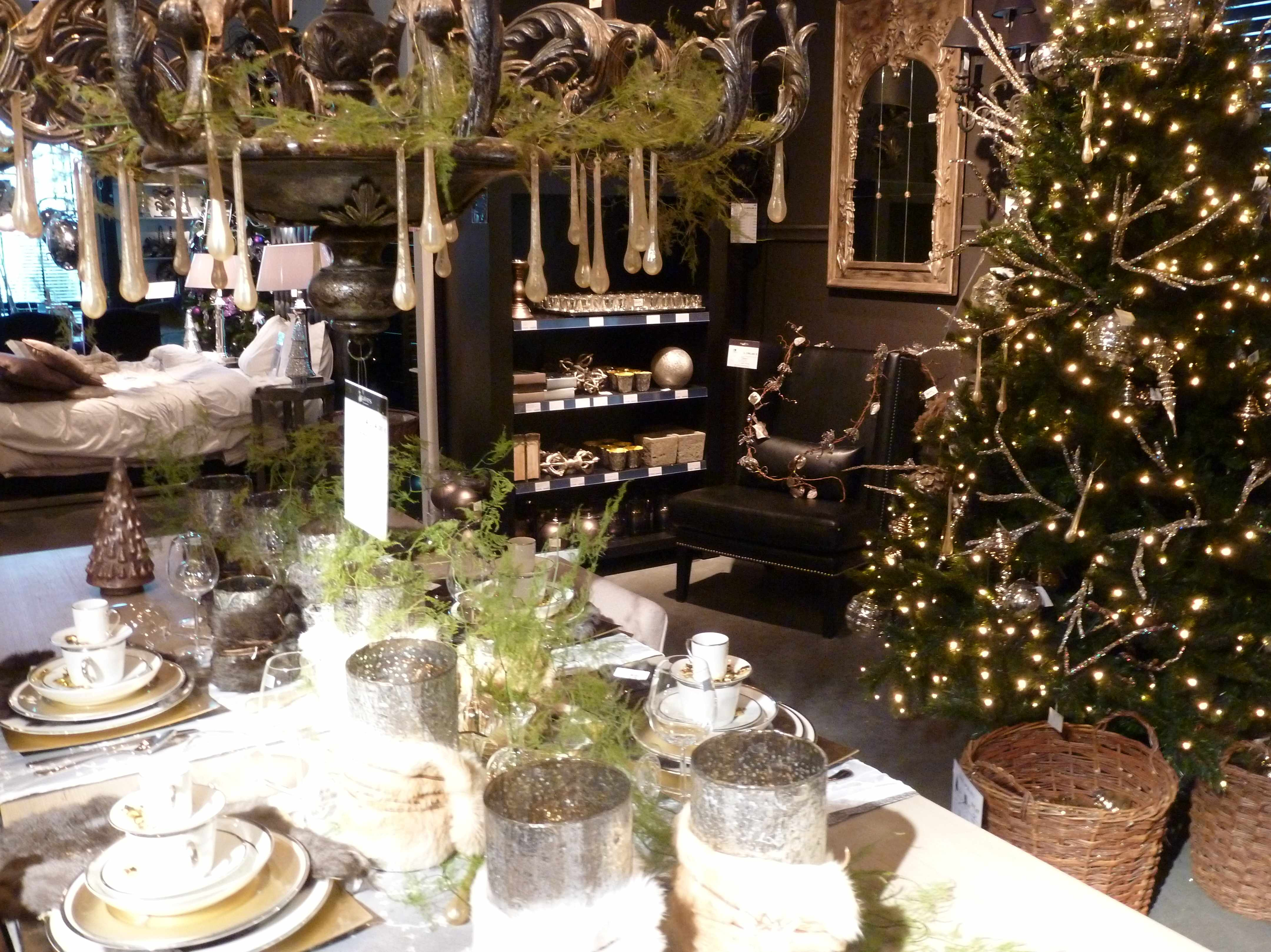 Ambiance Noel vert-or-fourrure Slots 12-2012