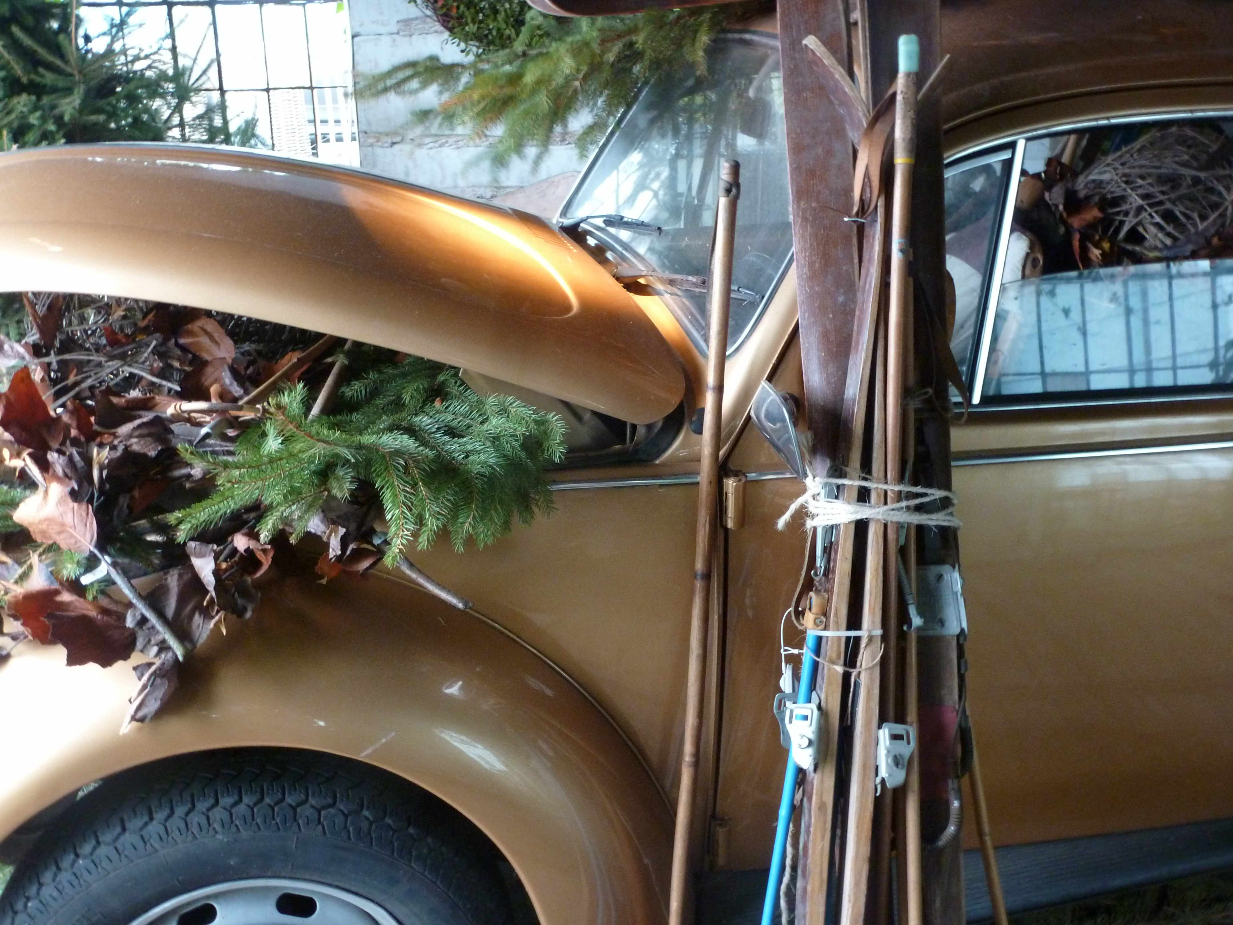 Automobile WV doree Noel 2012 Slots