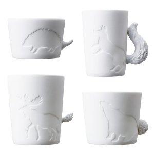 mugs photophores animaux de la foret Fleux