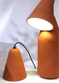 Cahier de tendance M&O 01-2013 Made in Design Luminaires terre cuite