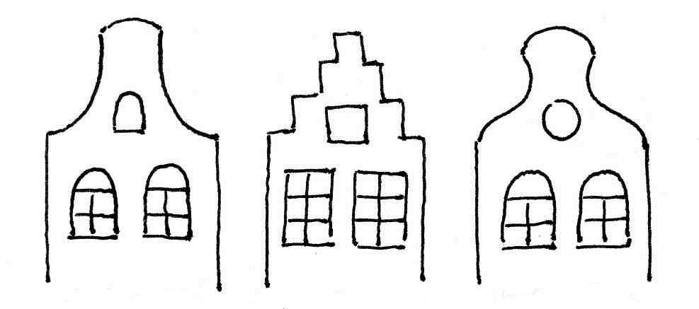 dessin pignons hollandais