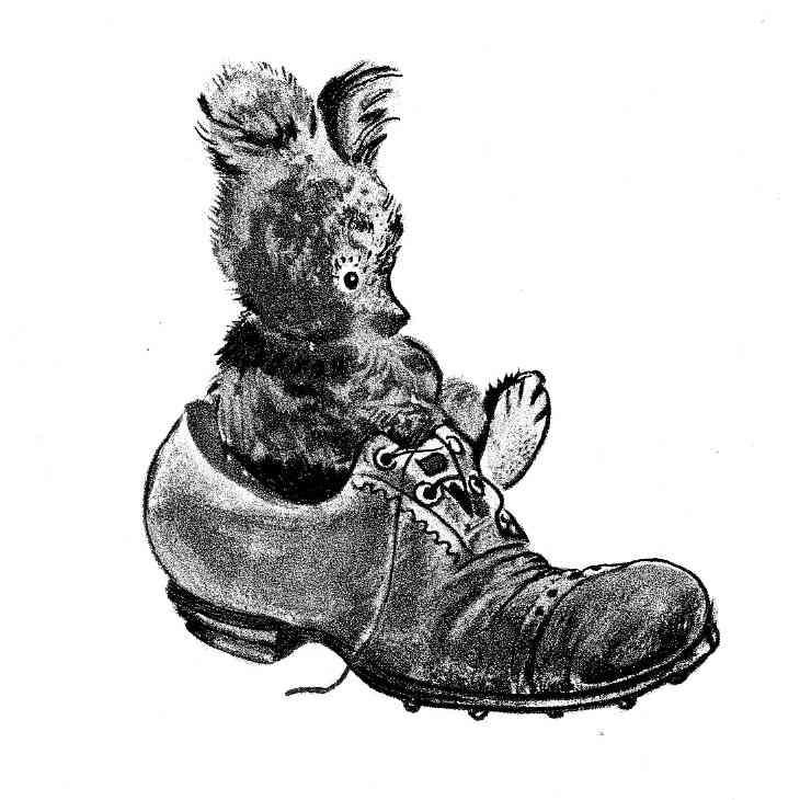 Michka dans la chaussure F. Rojankovsky