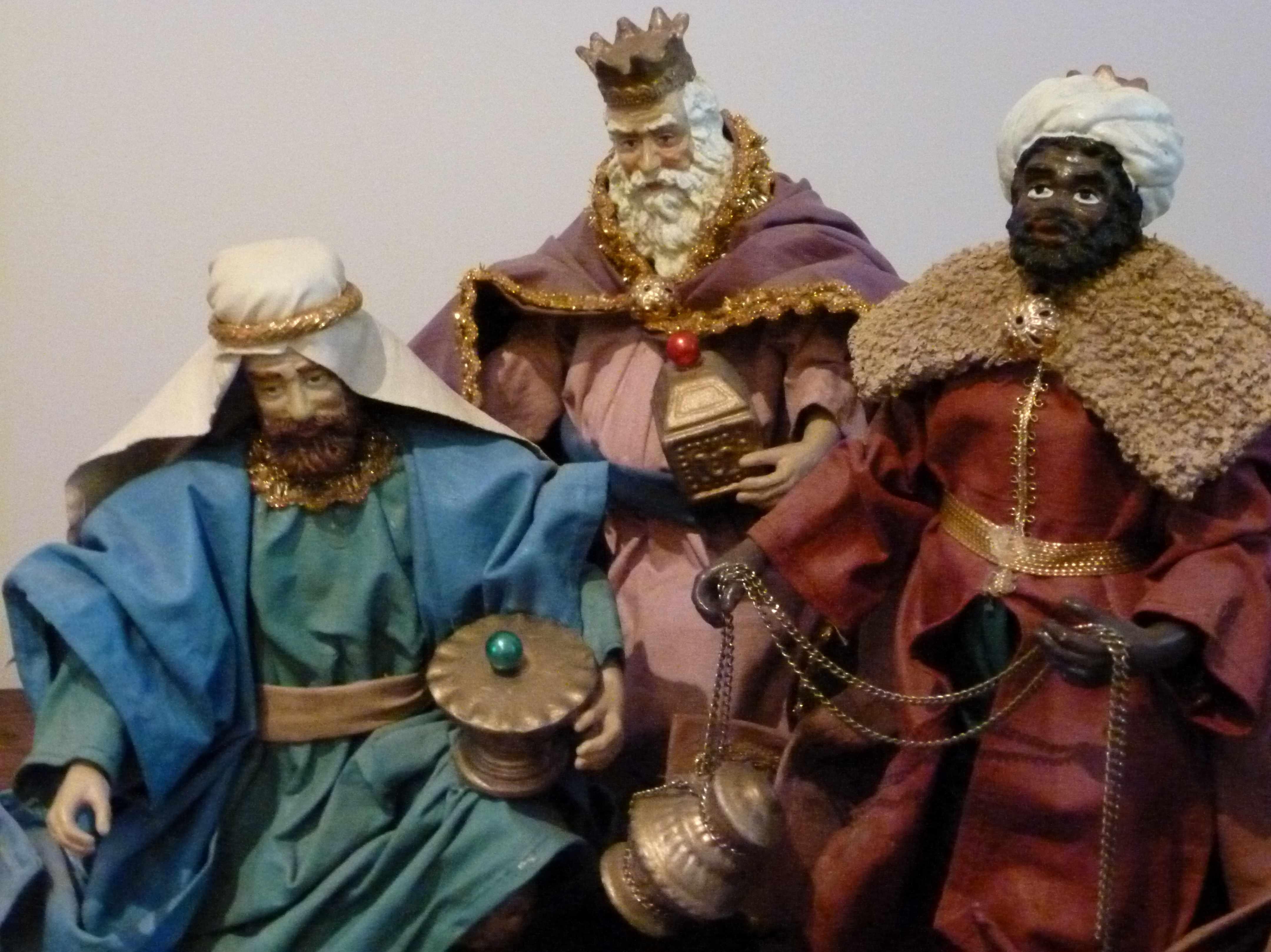 rois mages creche baroque