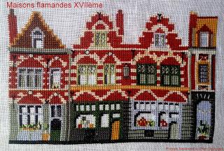 Maisons flamandes Les petites croix de Lilubelle