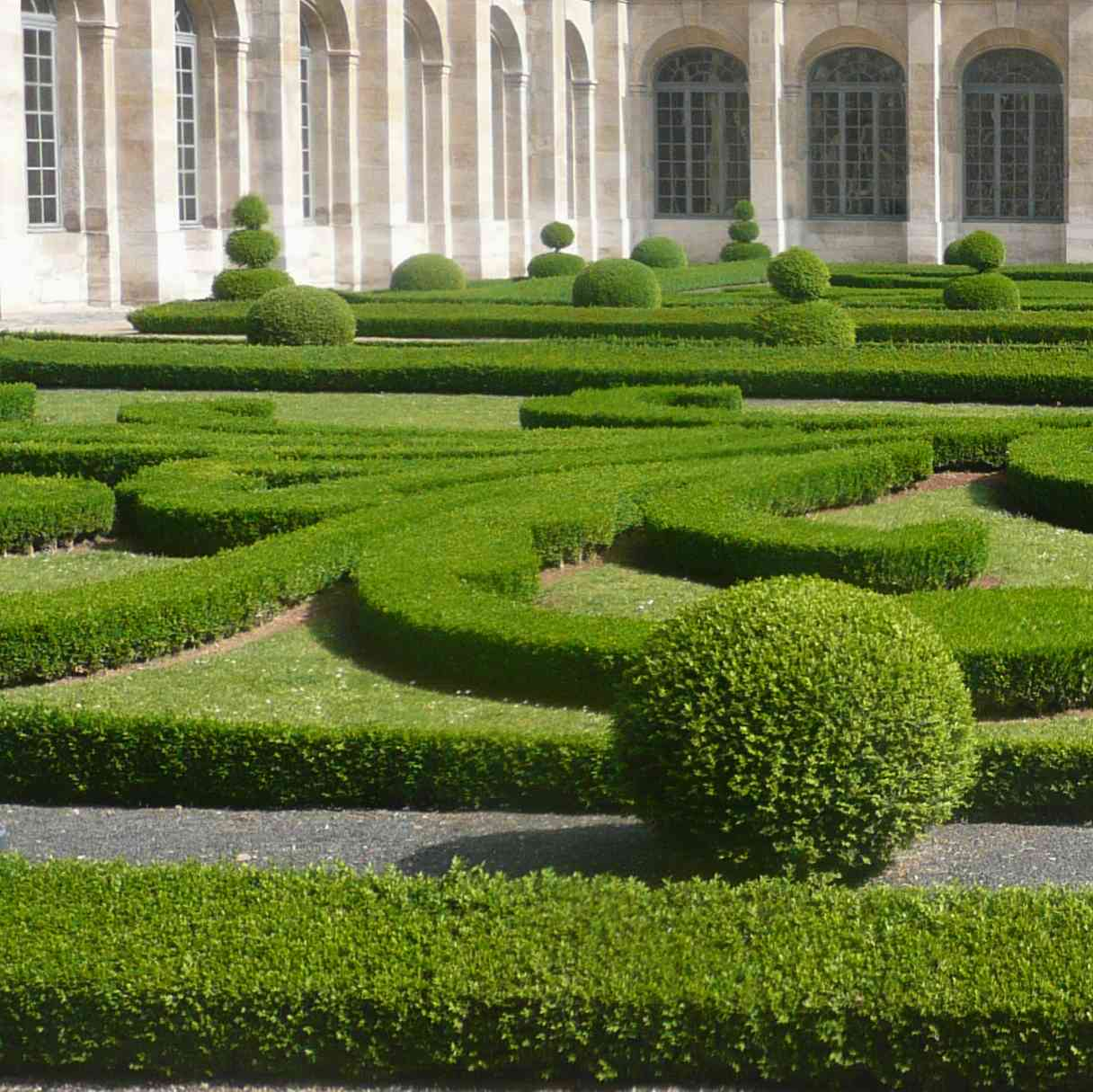 Parterres de verdure - Petit jardin en pot saint denis ...