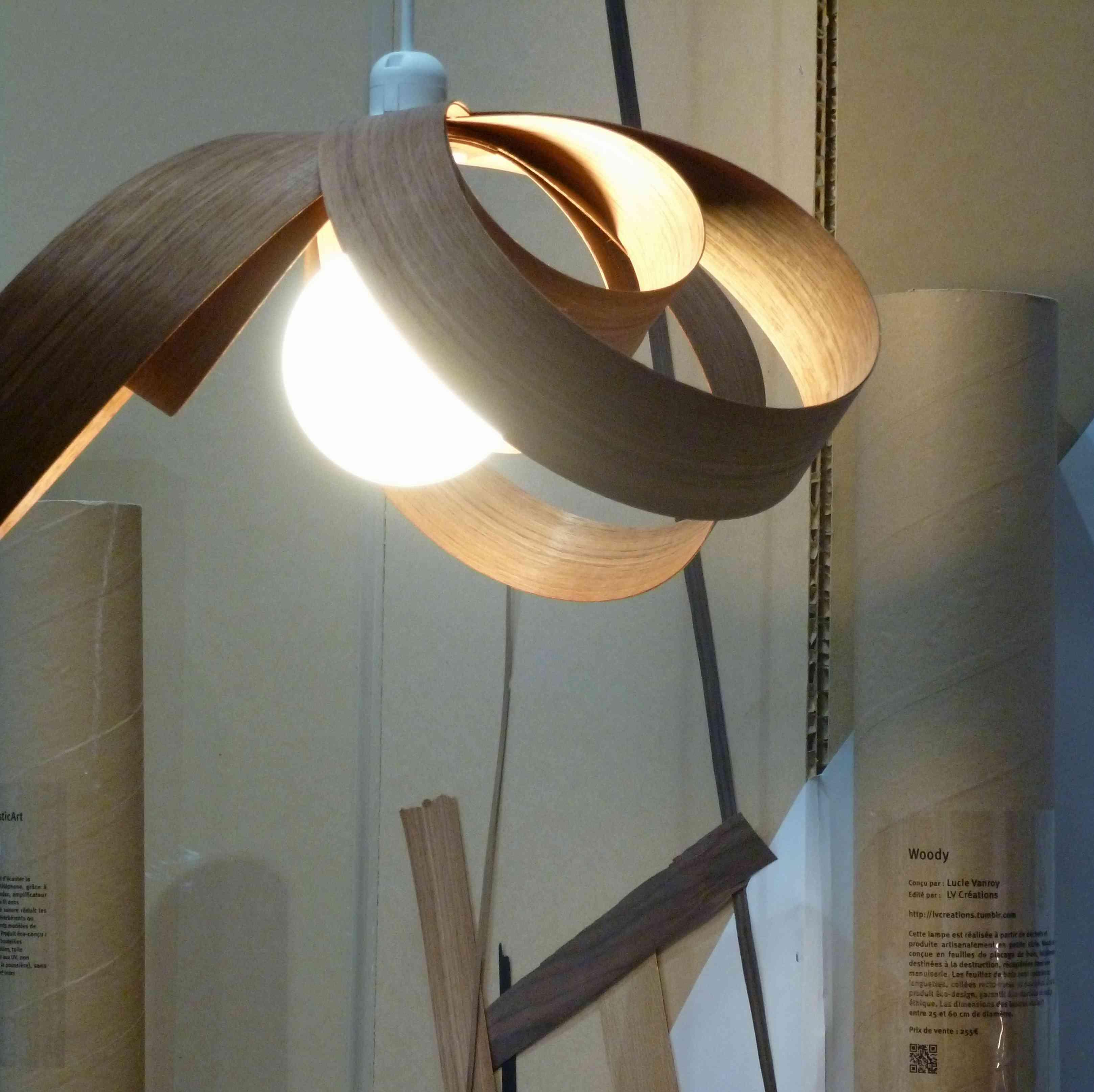 Lampe Woody Lucie Vanroy Design Reservoir 2013