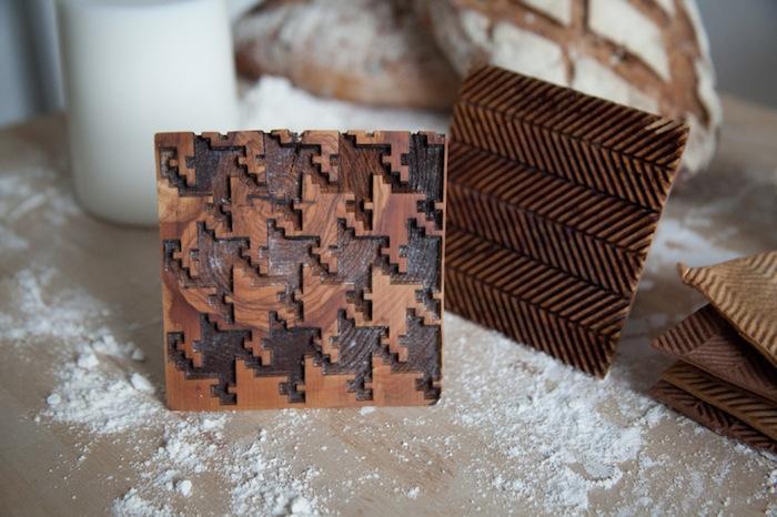 Architectural baking stamps -pied de poule-REMODELISTA