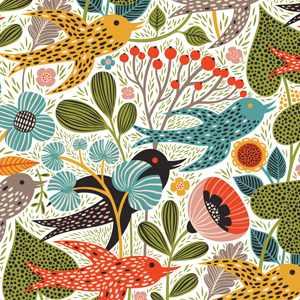Rushing to Spring - pattern by helen dardik