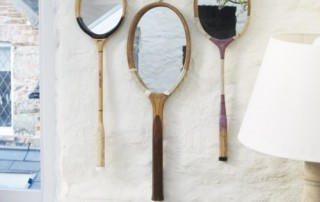 Miroirs raquettes design Flepi.net