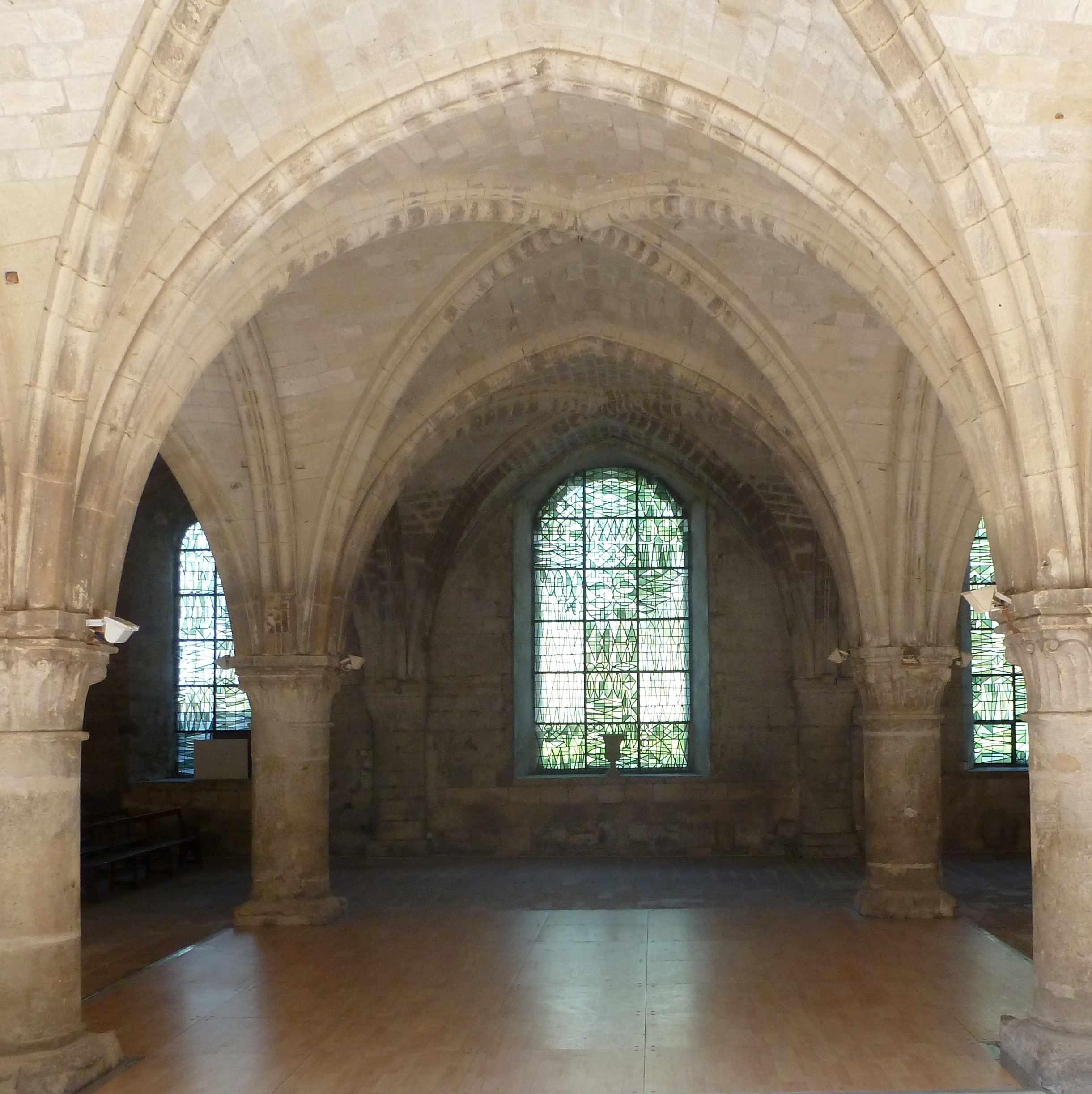 Salle du chapitre Abbaye de Vaucelles