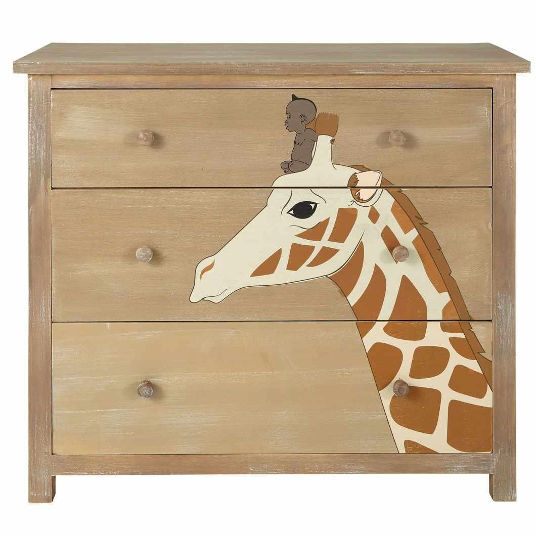MDM enfant Commode girafe Kirikou
