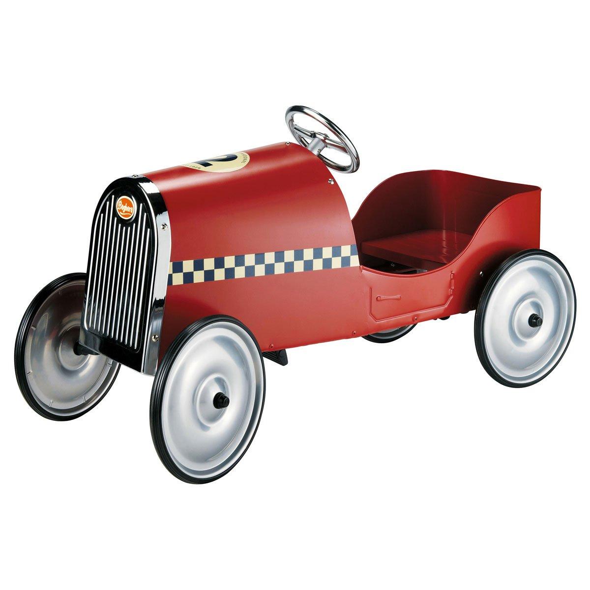 MDM enfant voiture a pedales rouge Baghera