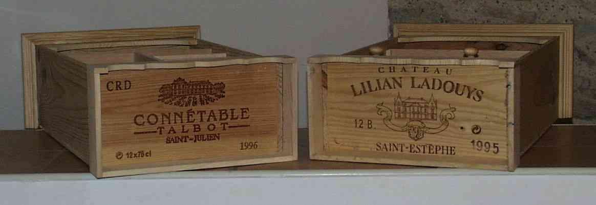 armoires poupee caisse de vin