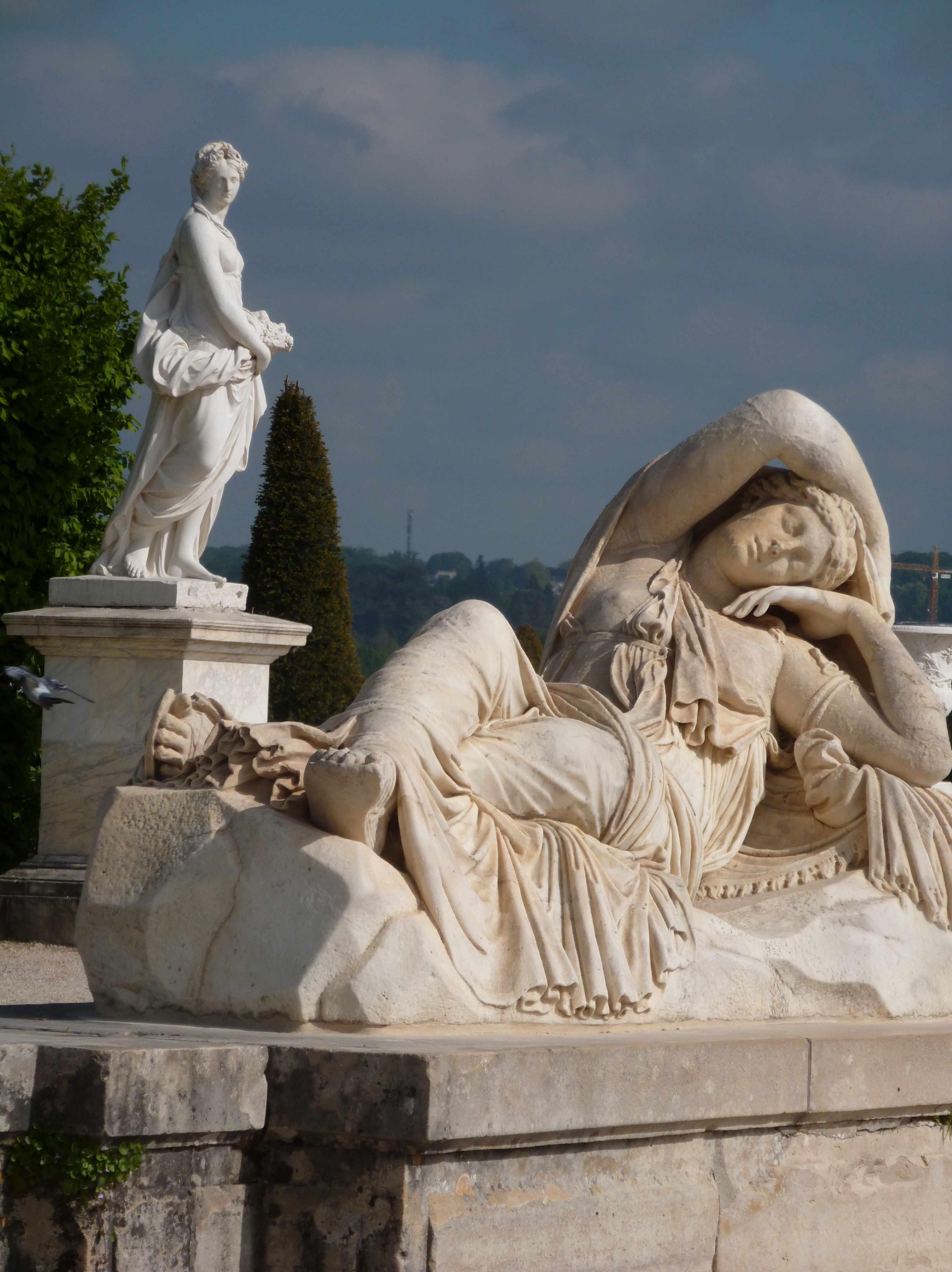 Versailles 05-2013 statue La Dormeuse