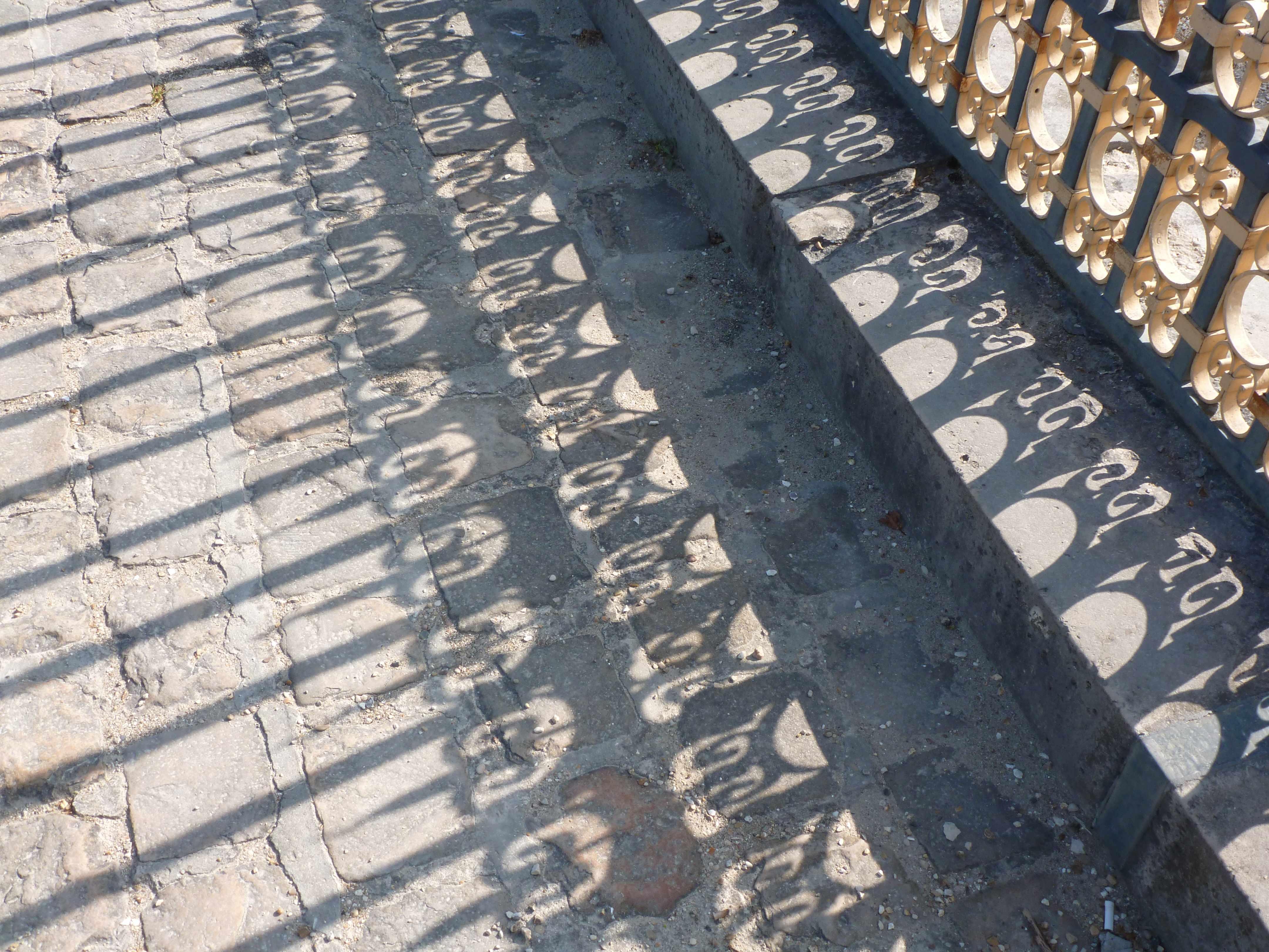 Versailles ombre grille orangerie 05-2013
