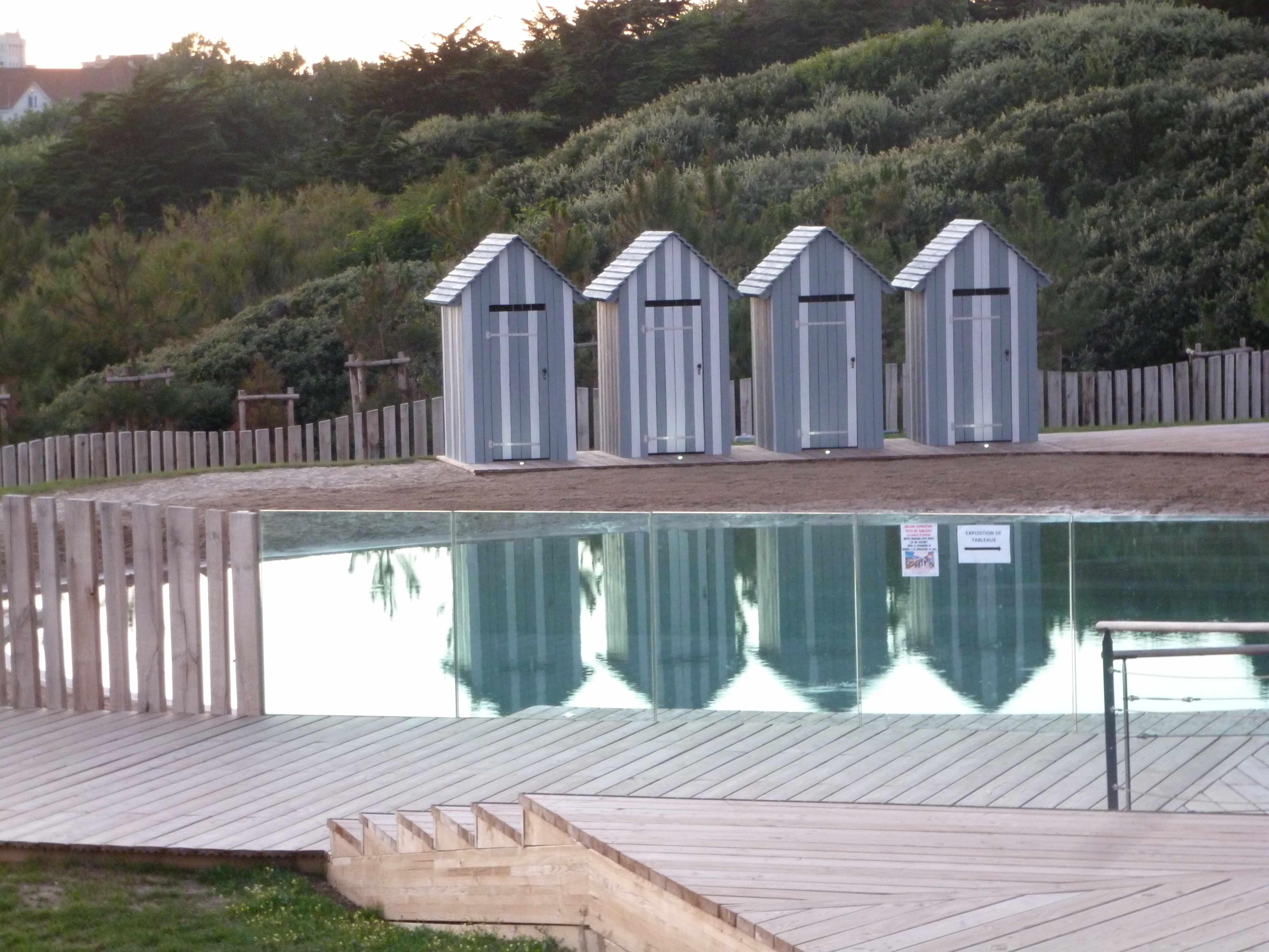Cabines plage thalasso Sables-d-Olonne