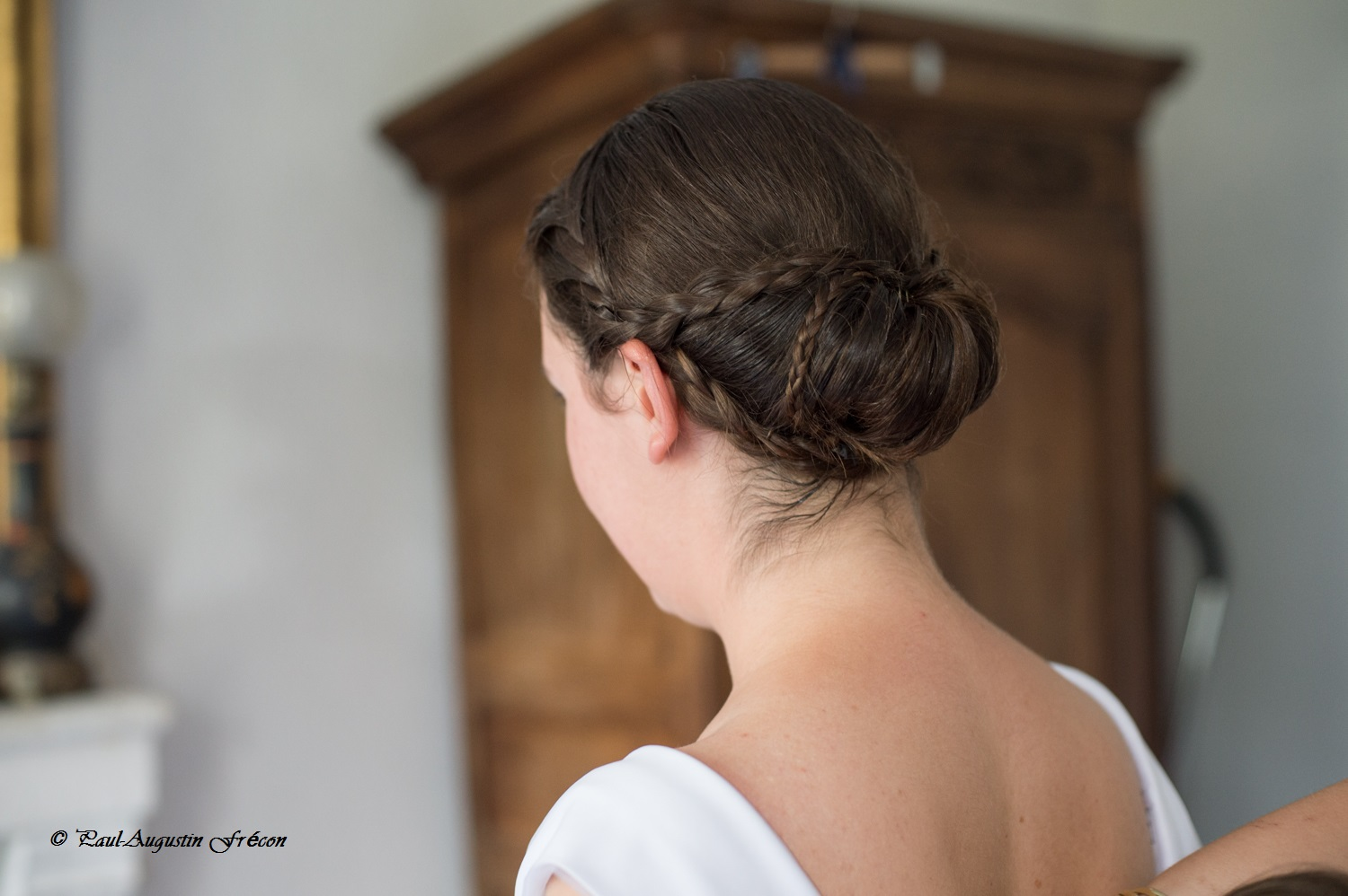 Mariage A-W coiffure mariee