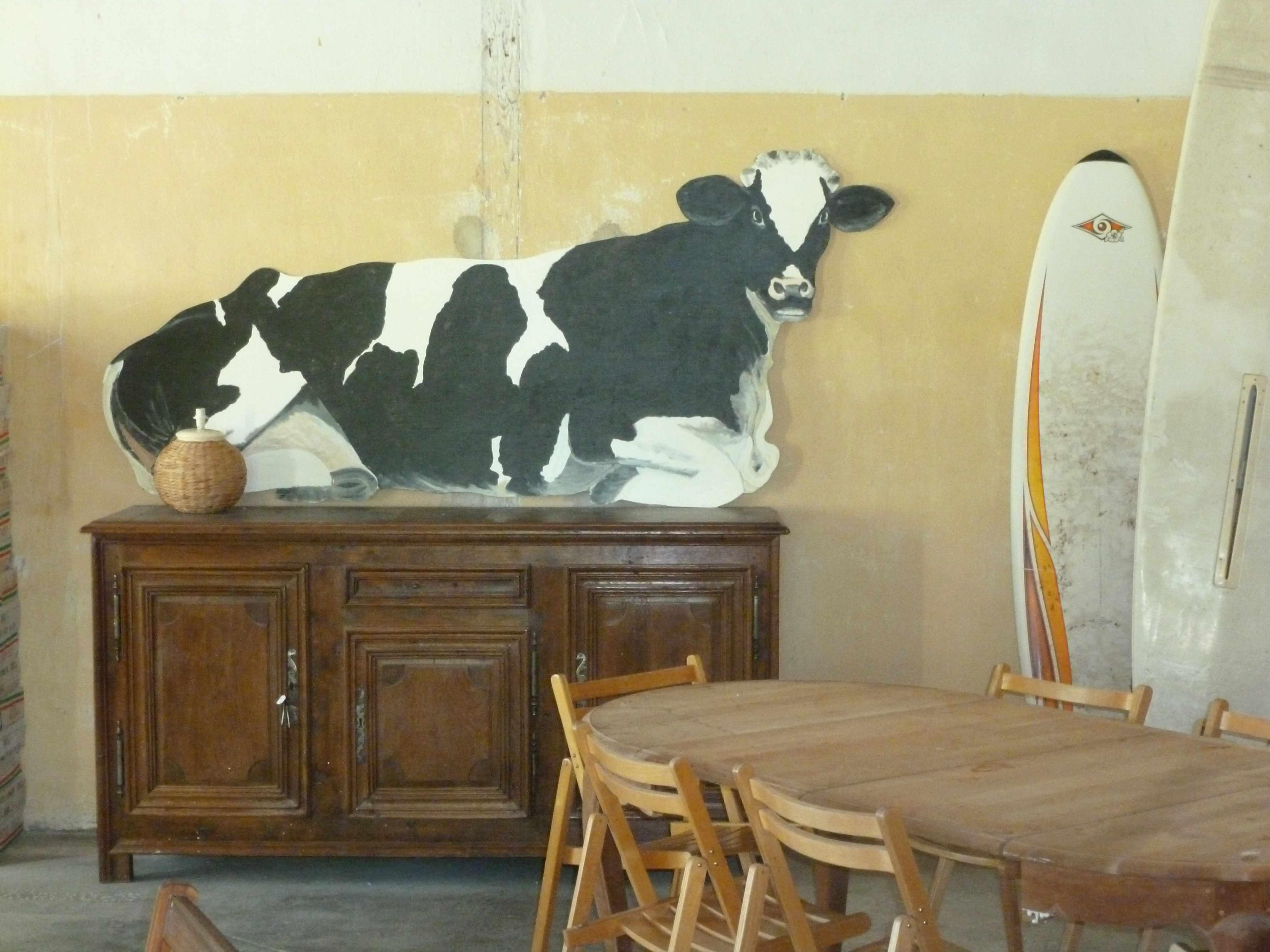 Deco vaches planches-a-voile