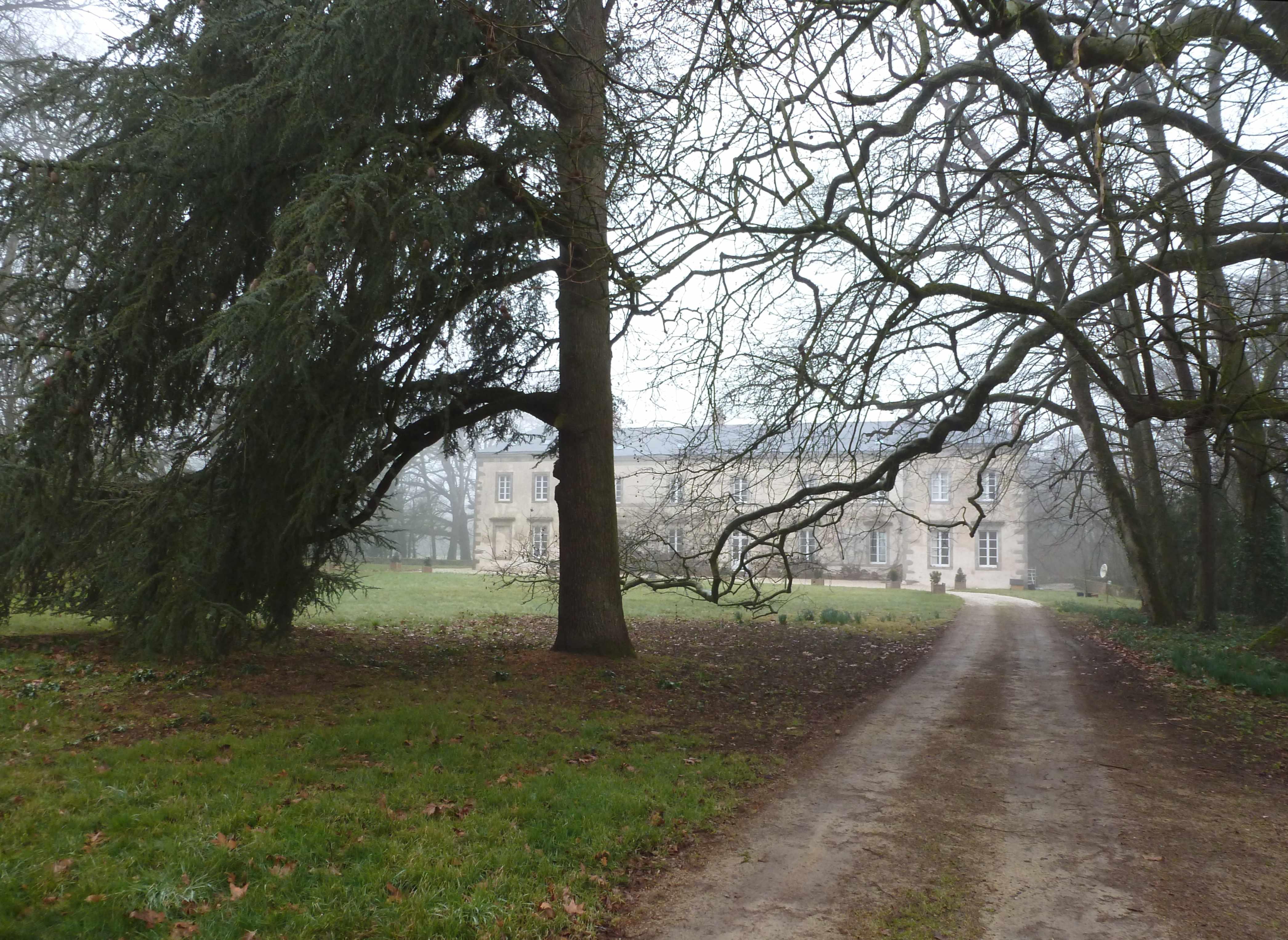 La Marronniere chateau hiver