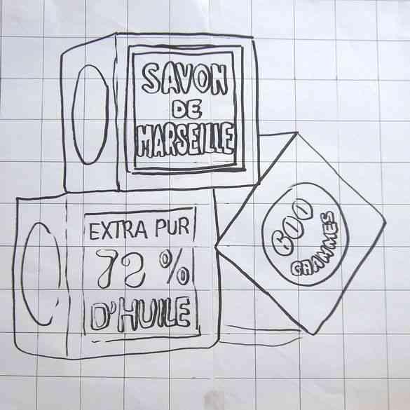 Domi dessin Savon Marseille 1