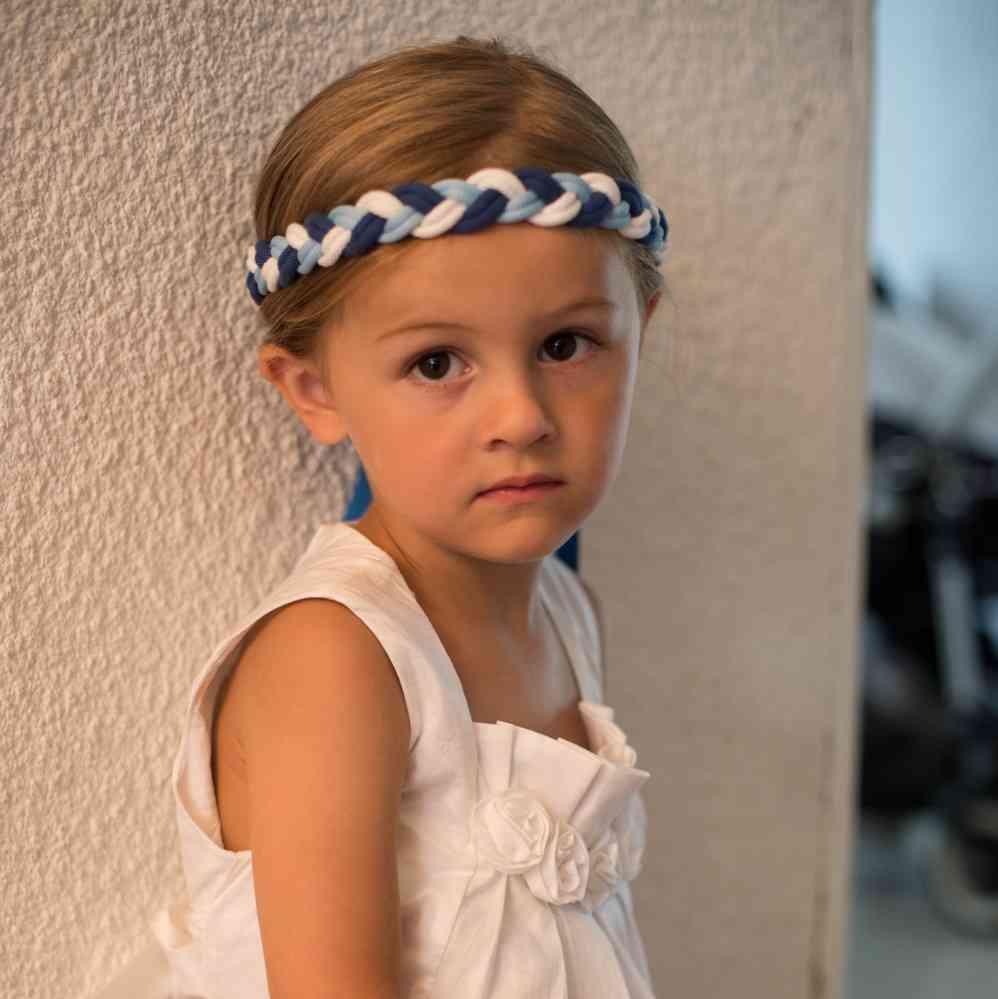 Demoiselle-d-honneur headband