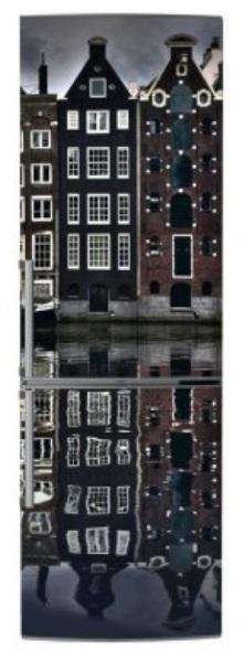 Magnet frigo Amsterdam houses La Redoute