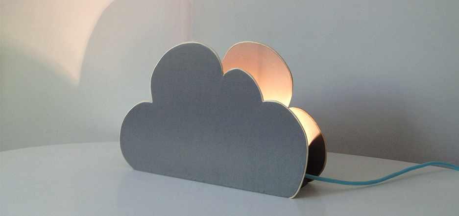 Lampe nuage Retro-boutique