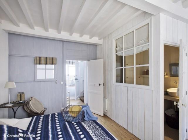 Pour ou contre la salle de bain ouverte sur la chambre - Deco chambre bord de mer ...