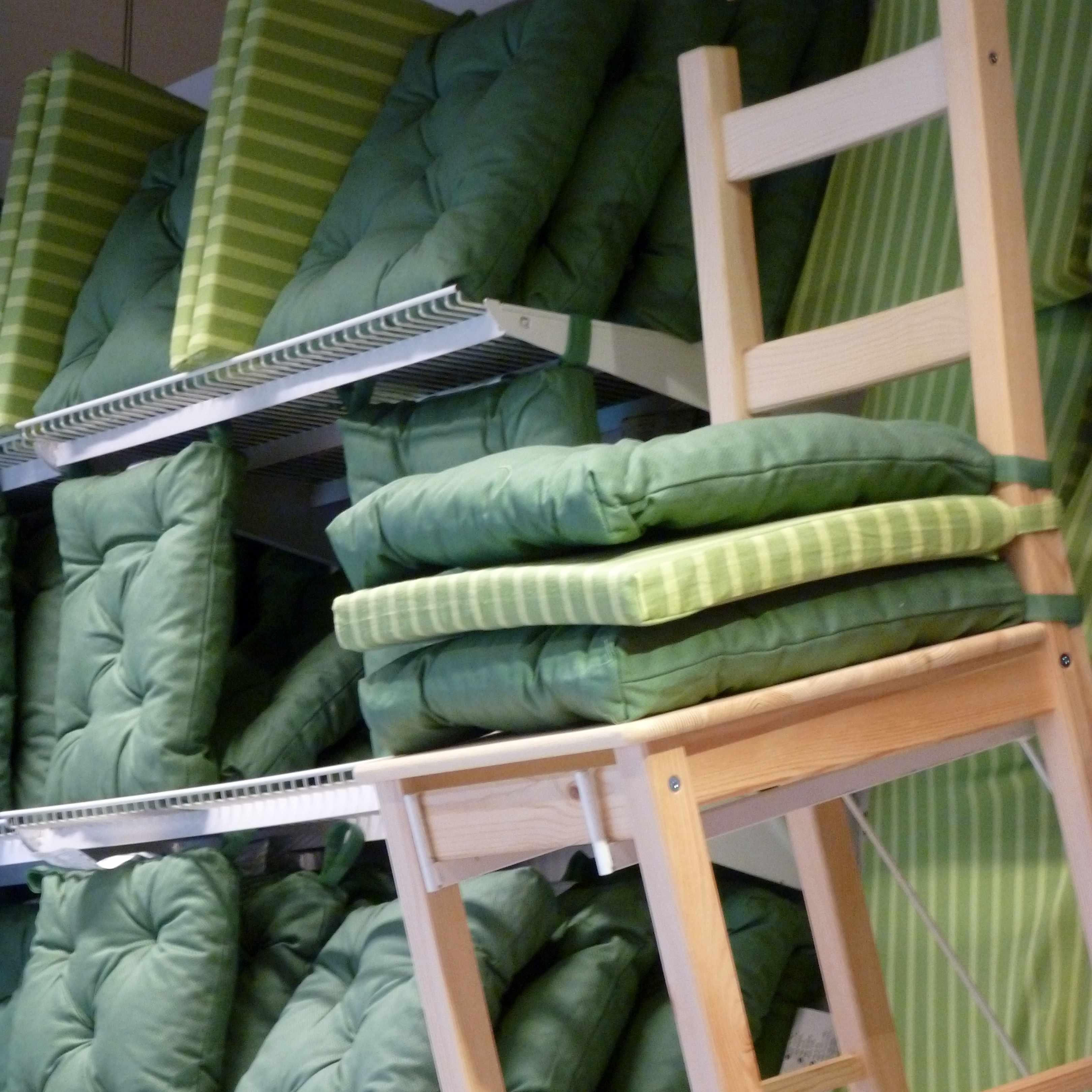 coussins verts Ikea 02-2014