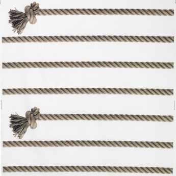 Ikea 2014 Lisel tissu corde-a-noeuds