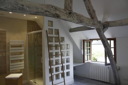 separation douche paves de verre Dali-renovation