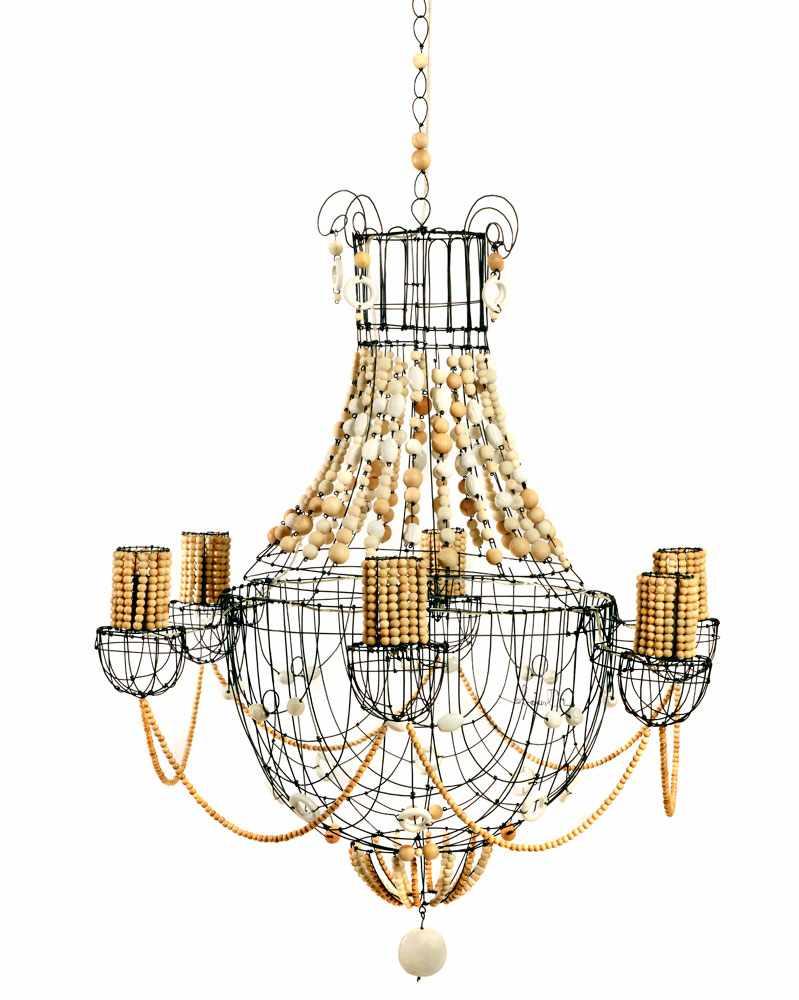 lustre-Ibiza-bois-ceramique-collection-classique Marie-Christophe