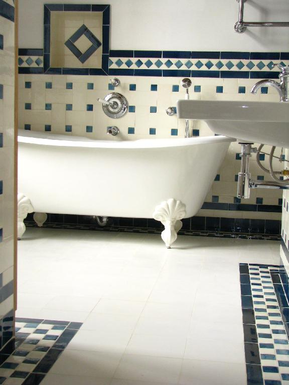 D co salle de bain 1900 for Carrelage 1930