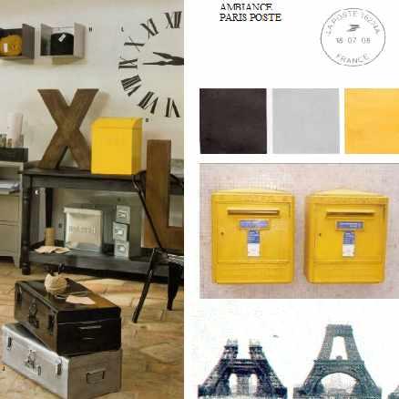 Touche de jaune A tous les etages Conseil deco 03-2014