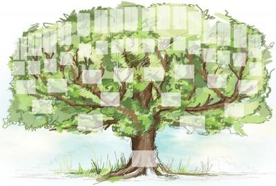 Arbres de famille - Arbre genealogique avec photo ...
