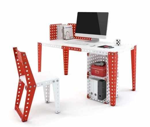 bureau-pieces-metal-meccano