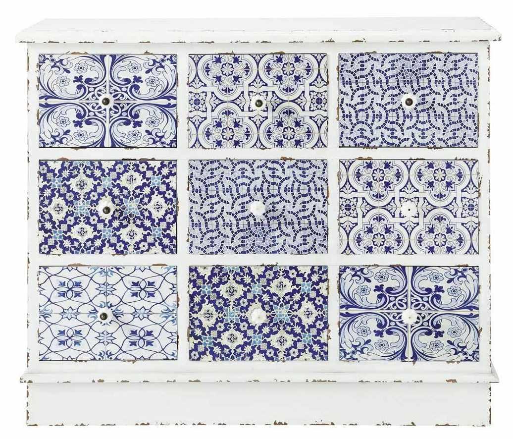 Carreaux en patchwork et trompe l 39 il for Ancienne collection maison du monde