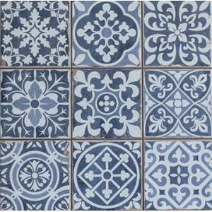 Carreaux en patchwork et trompe l 39 il - Carrelage ancien leroy merlin ...