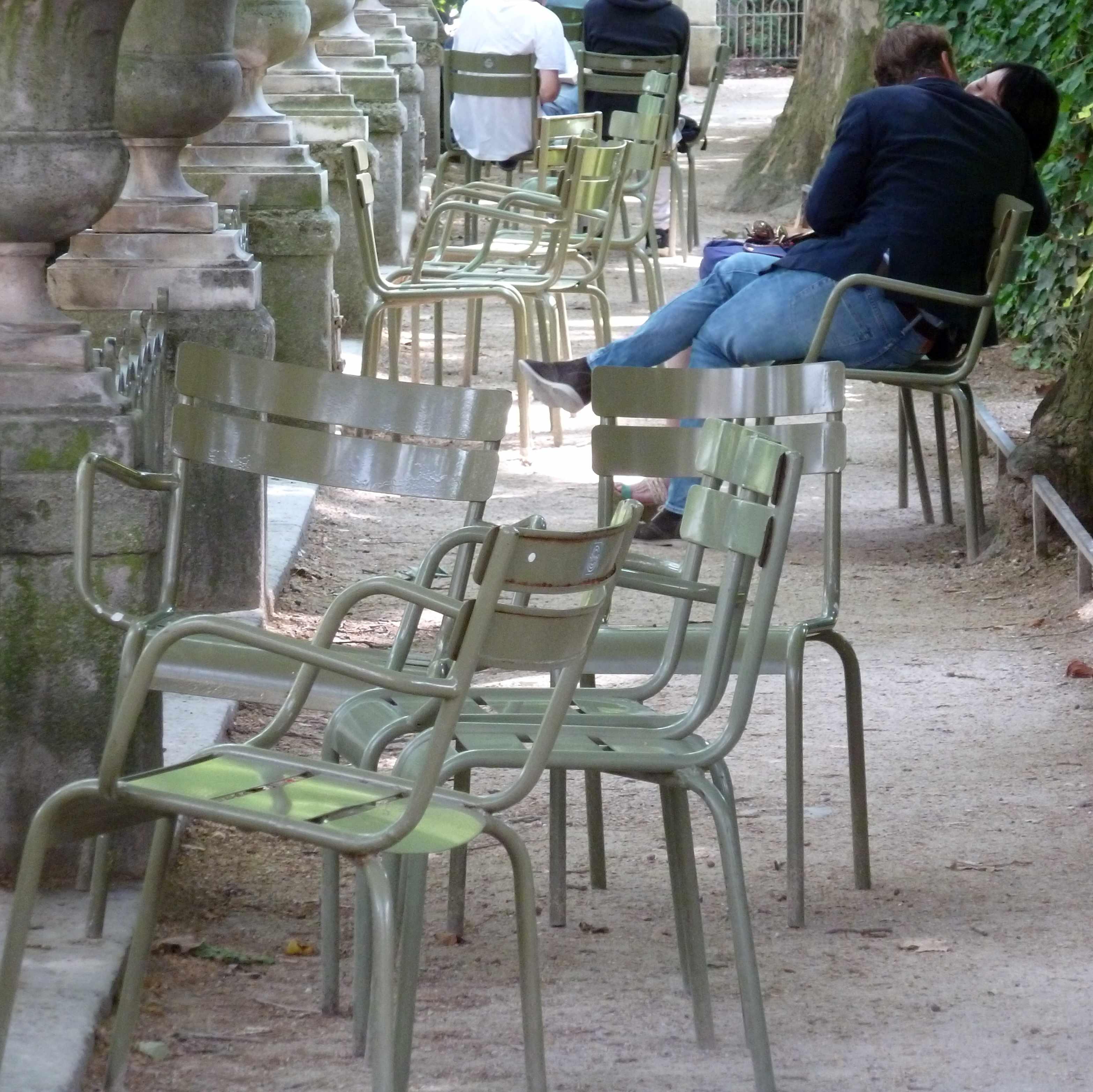 Paris vert paris gris for Fermob jardin du luxembourg
